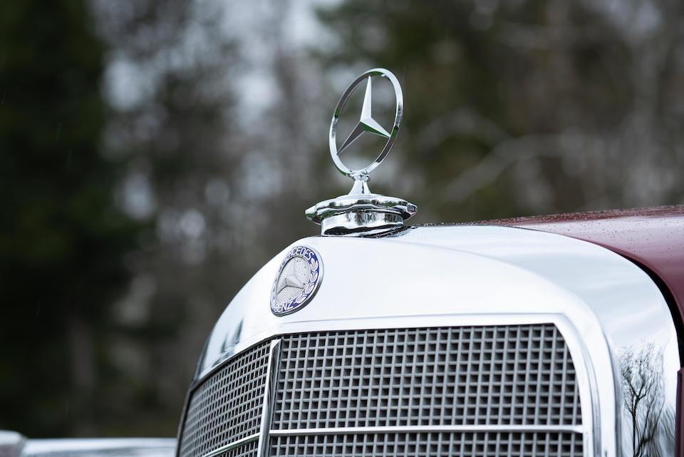 <b>1958 Mercedes-Benz 300D Cabriolet D</b><br />Chassis no. A189033-8500656
