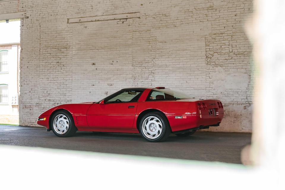 <b>1991 Chevrolet Corvette ZR-1</b><br />VIN. 1G1YZ23J5M5801484