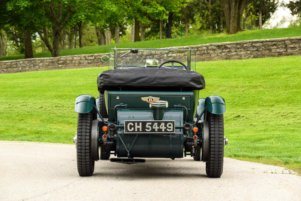 <b>1930 Bentley 4&#189; Liter Sports Tourer</b><br />Chassis no. FS3601<br />Engine no. FS3603