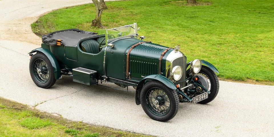 <b>1930 Bentley 4&#189; Liter Sports Tourer</b><br />Chassis no. FS3601<br />Engine no. FS3603