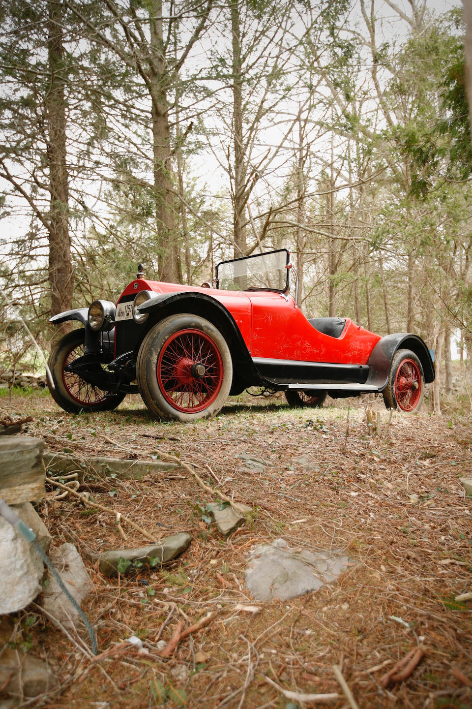 <b>1919 Stutz Model G Roadster</b><br />Chassis no. 4366