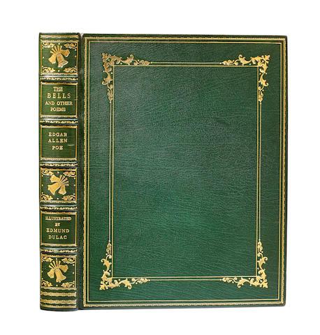 DULAC, EDMUND. 1882-1953. POE, EDGAR ALLAN. 1809-1849.  The Bells and Other Poems. London: Hodder & Stoughton, c.1920.