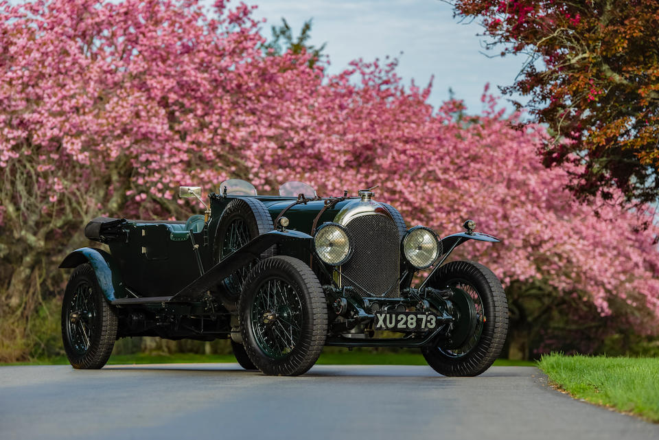 <b>1924 Bentley 3/5.3 Liter Le Mans Replica</b><br />Chassis no. 712<br />Engine no. 904 (see text)