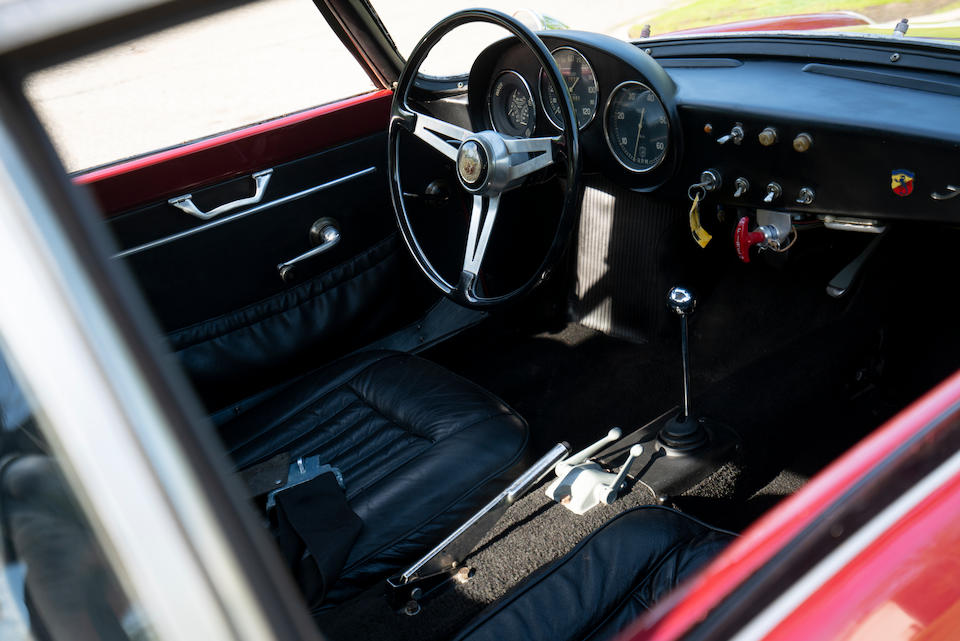 <B>1959 Abarth 750GT Double Bubble Coupe  </b><br />Chassis no. 718273 <br />Engine no. 0142613 (see text)
