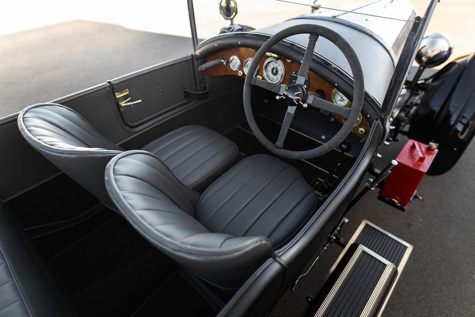 <b>1922 Bentley 3 Liter Sports Tourer</b><br />Chassis no. 103<br />Engine no. 109