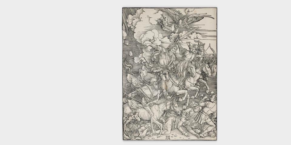 Albrecht Dürer (1471-1528); The Four Horsemen of the Apocalypse, from The Apocalypse;