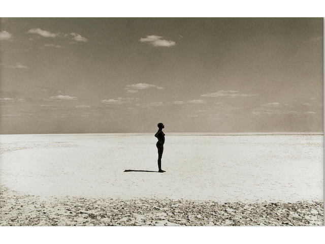 Herb Ritts (1952-2002); Malaika—Manyaca Salt Lake, Africa;
