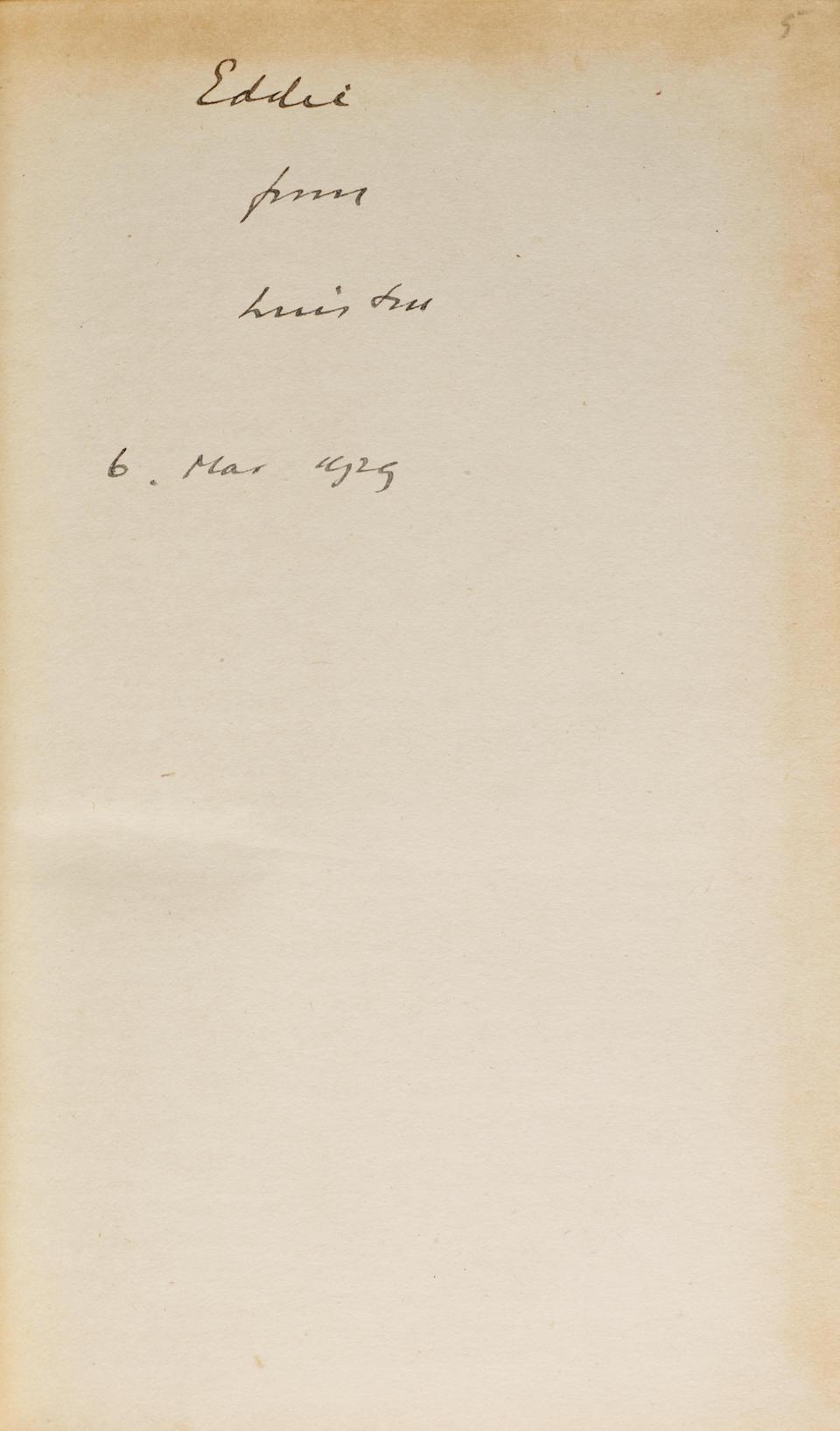 CHURCHILL, WINSTON SPENCER. 1874-1965. The World Crisis. London: Thornton Butterworth Limited, 1923-1931.
