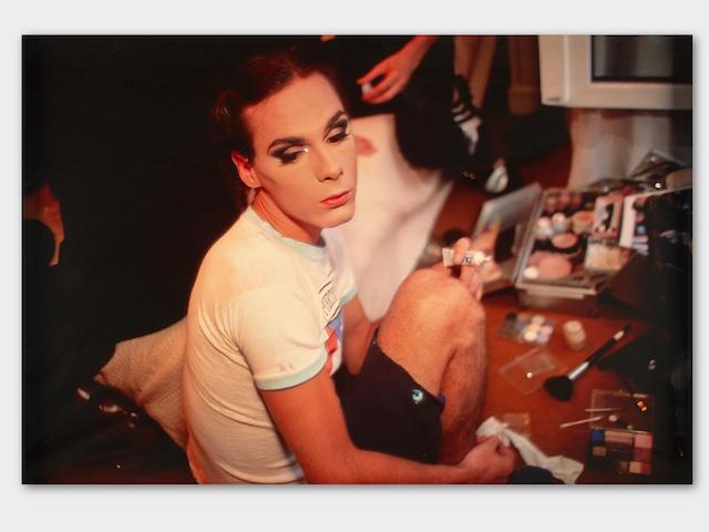 Nan Goldin (born 1953); Misty doing her make-up, Paris;