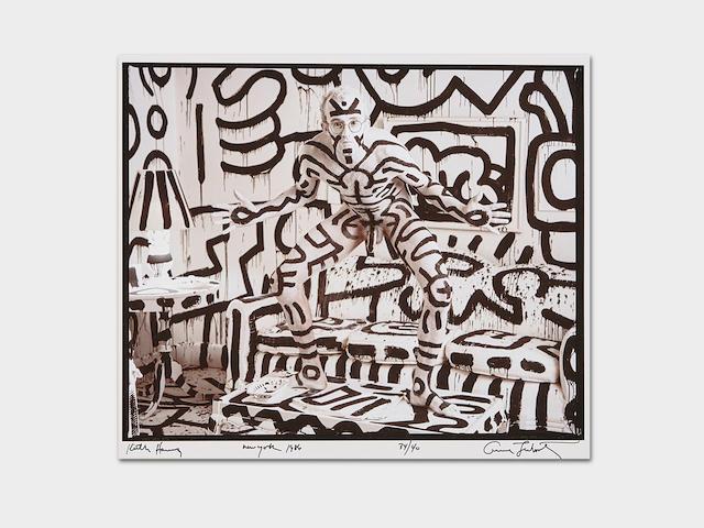 Annie Leibovitz (born 1949); Keith Haring, New York;