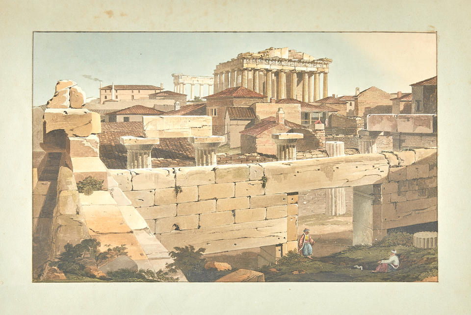 DODWELL, EDWARD. 1767-1832. Views in Greece. London: Rodwell and Martin, 1821.