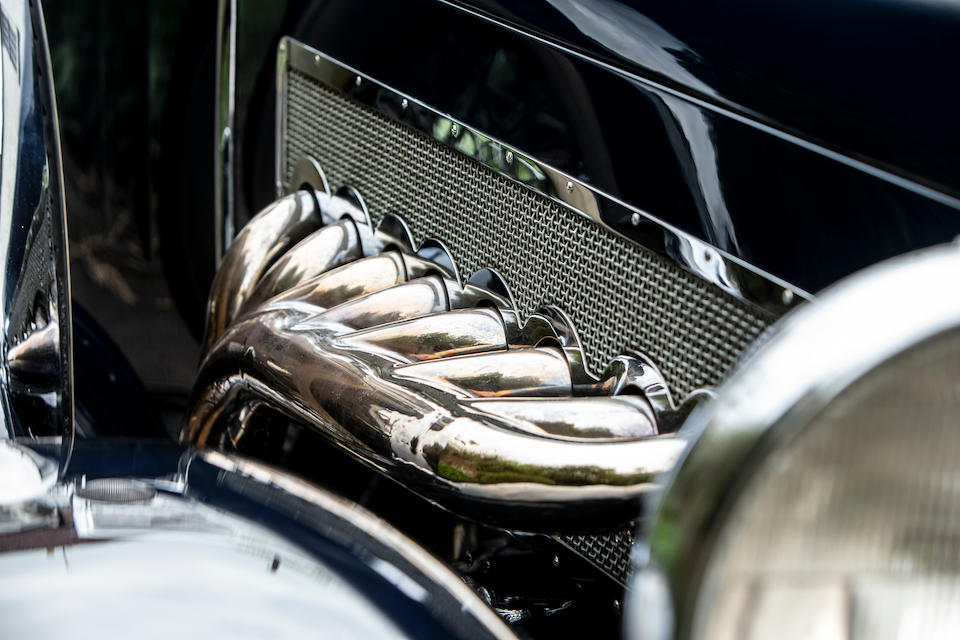 <b>1934 Duesenberg Model J Torpedo Phaeton</b><br />Chassis no. 2579<br />Engine no. J555