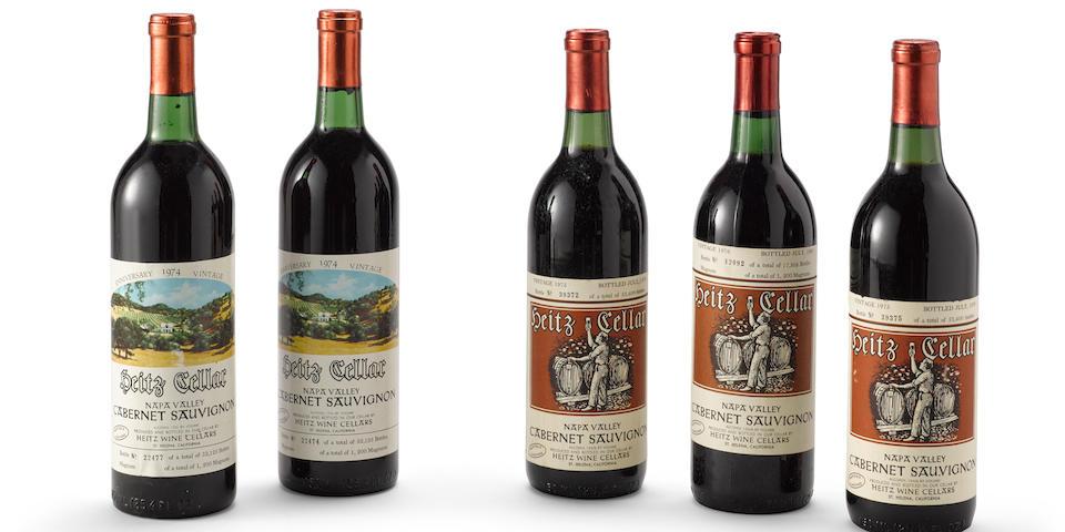 Heitz Cellar Cabernet Sauvignon 1974, Martha's Vineyard (2)