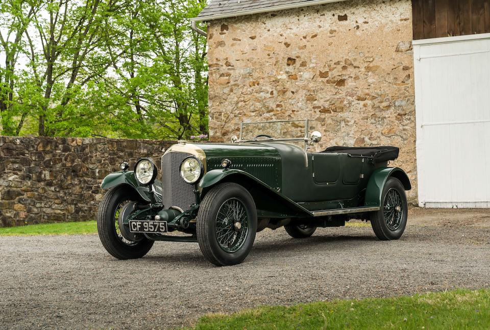 <b>1930 Bentley Speed Six Sports Tourer</b><br />Chassis no. FR2639<br />Engine no. FR2641S