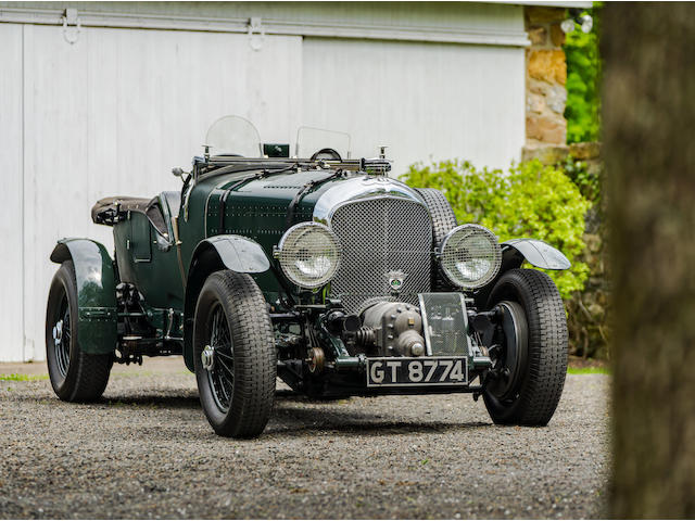 1931 Bentley 4 1/2 Liter Supercharged 'Birkin Le Mans Replica' Tourer  Chassis no. MS 3942 Engine no. MS 3950
