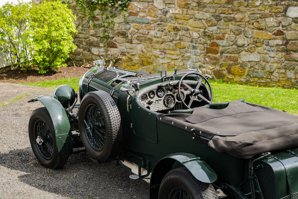 <b>1931 Bentley 4&#189; Liter Supercharged Birkin Le Mans Replica</b><br />Chassis no. MS 3942<br />Engine no. MS 3950 (see text)