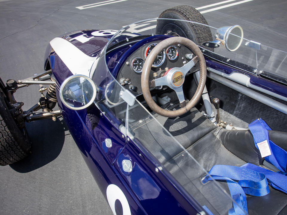 <b>1962 Cooper-BMC Type 59 Formula Junior Racing Single-Seater</b><br />Chassis no. FJ-7-62