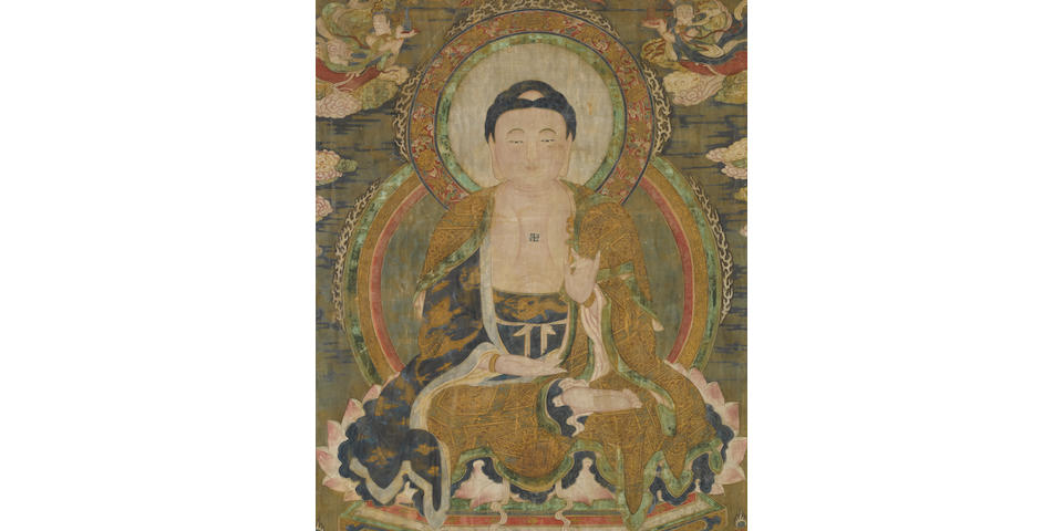 A Painting of Buddha 17th/18th century