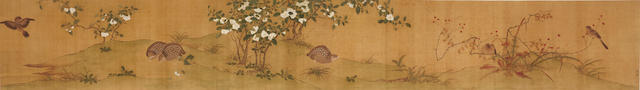 Anonymous (19th/20th century) Birds and Flowers