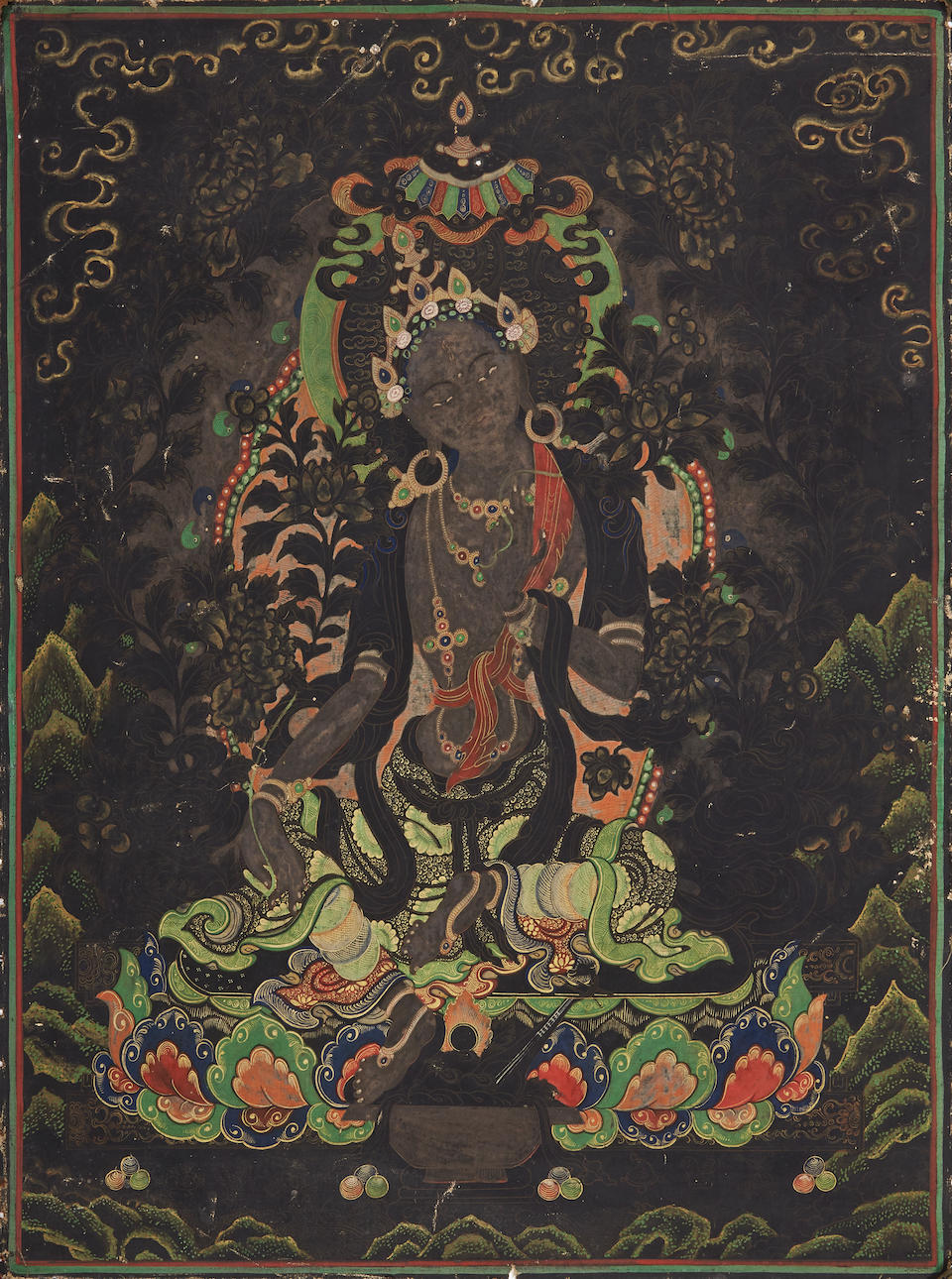 Two thangkas 19th/20th century (2)