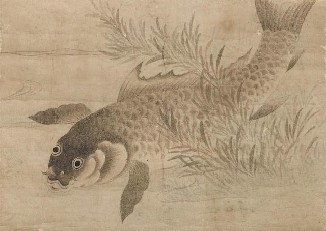Anonymous (Muromachi/Edo period)  Catfish