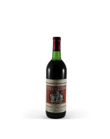 Heitz Cellar Cabernet Sauvignon 1967, Martha's Vineyard (1)