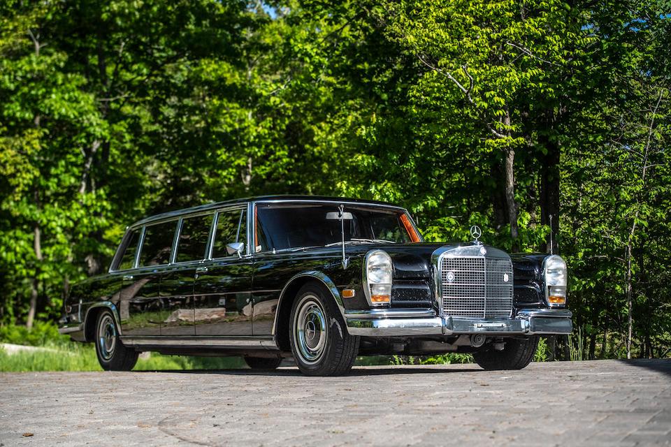 <b>1970 Mercedes-Benz 600 Pullman 4-Door Limousine  </b><br />Chassis no. 100.014-12-001655