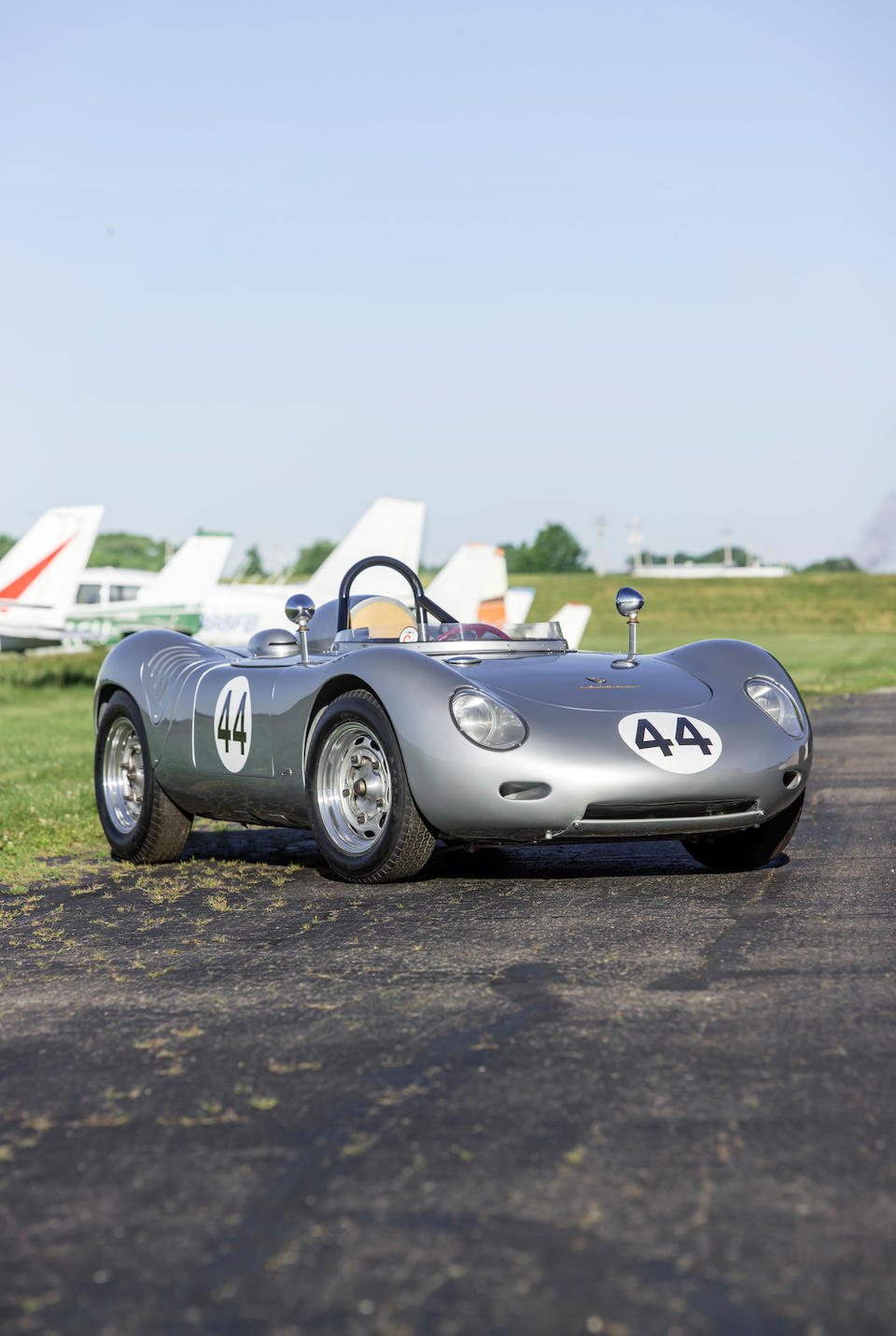 <b>1959 Porsche 718 RSK Center-Seat Spyder</b><br />Chassis no. 718-028<br />Engine no. 90220
