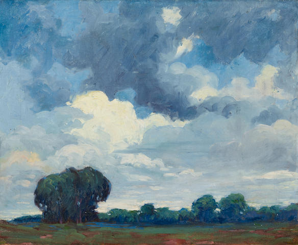 George Demont Otis (1879-1962) Landscape 18 x 22in