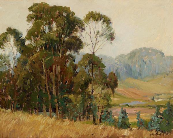 George Demont Otis (1879-1962) Across the Valley 24 x 30in