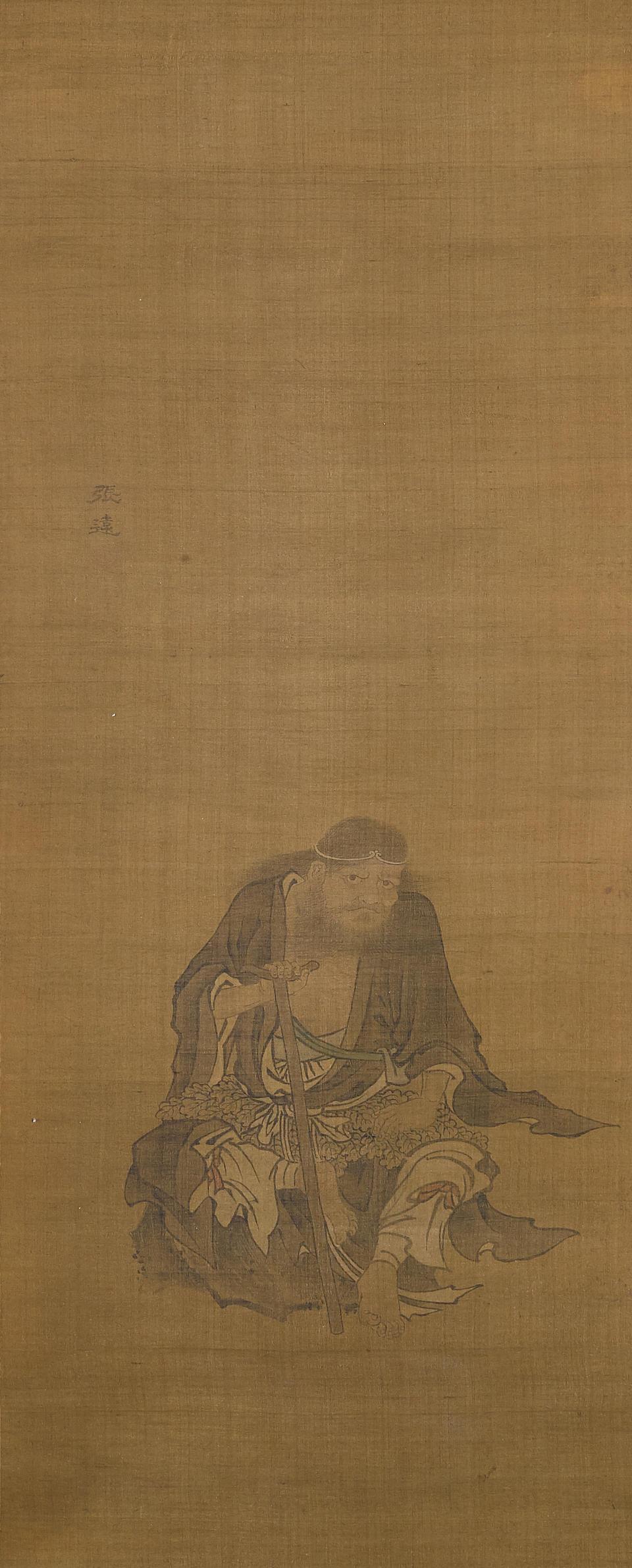 Attributed to Zhang Yuan (active 17th century)  Li Tieguai and Zhongli Quan  (2)