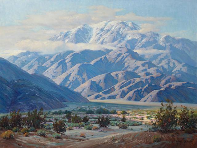 Paul Grimm (1891-1974) San Gorgonio 36 x 48in