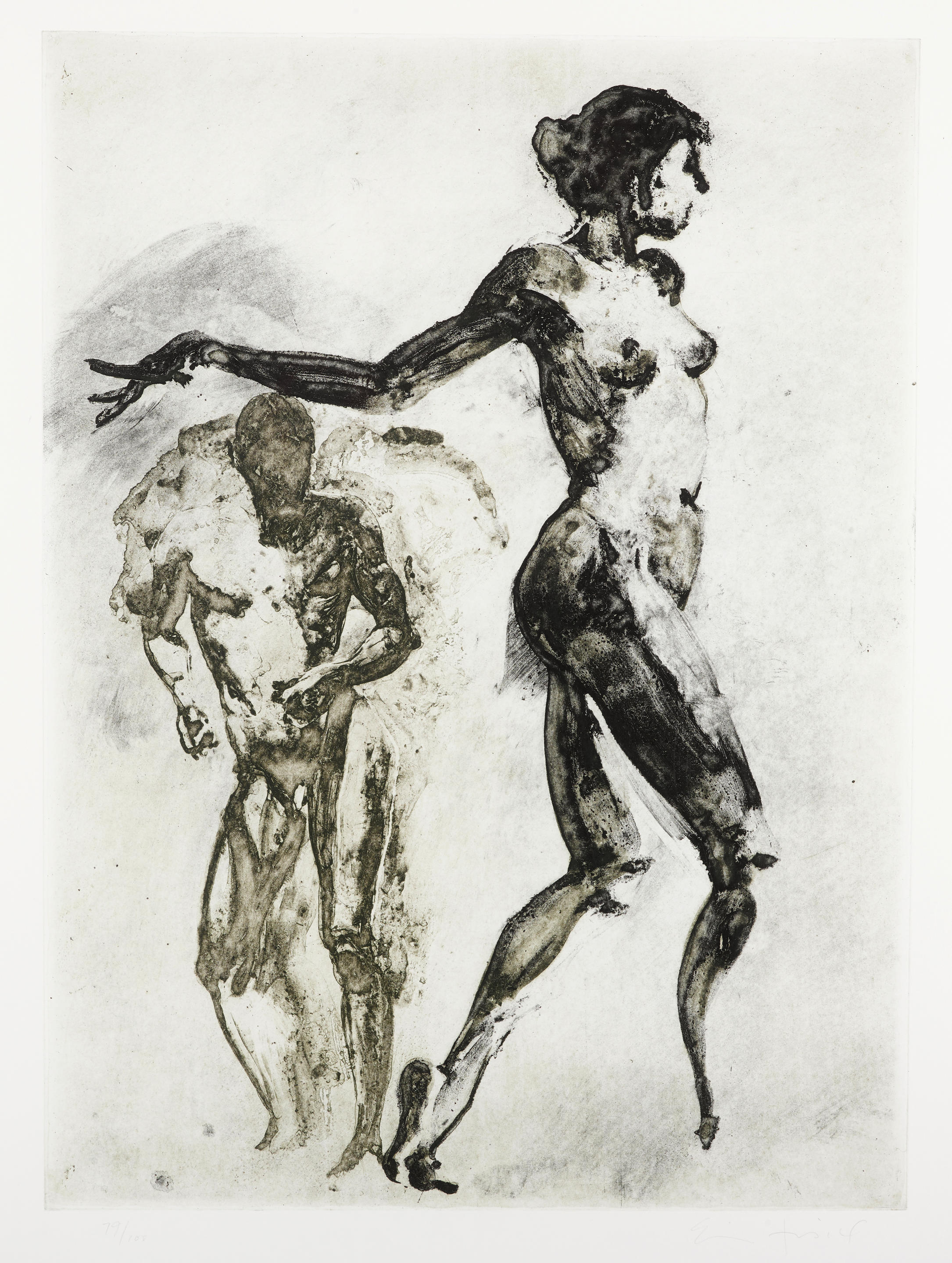 Eric Fischl (born 1948); Untitled, from the Couples Portfolio;