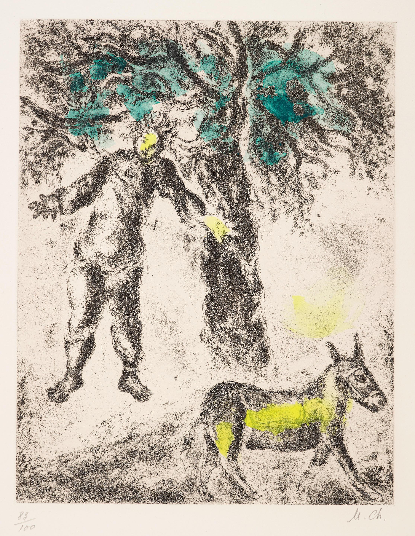 Marc Chagall (1887-1985); Fin d'Absalon;