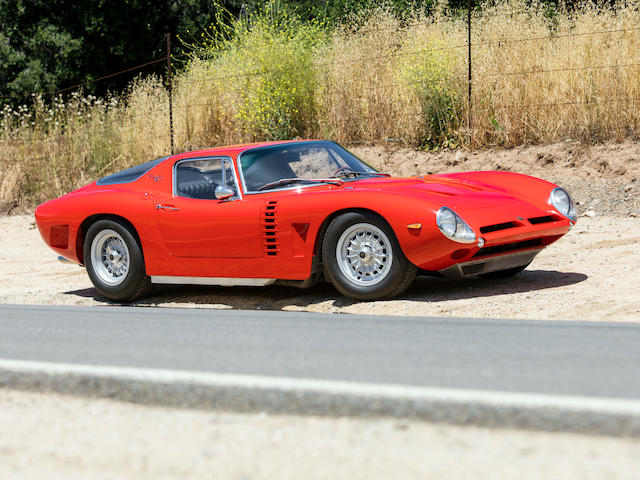<b>1965 Iso Grifo A3 COMPETIZIONE</b><br />Chassis no. B0213<br />Engine no. 129-F12183Q