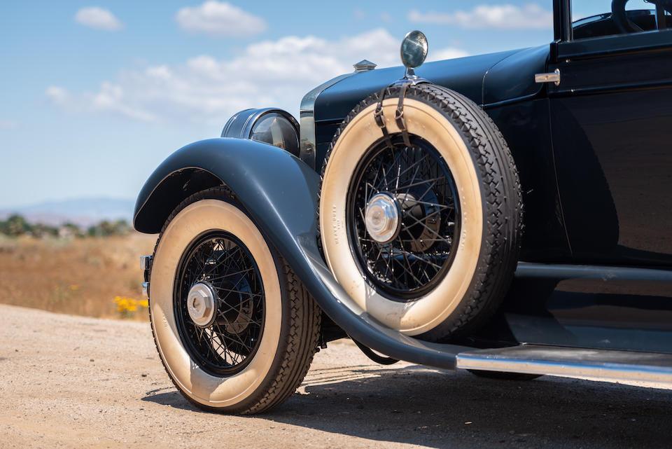 <b>1928 Cunningham Series V-7 Sedan</b><br />Chassis no. V5141<br />Engine no. V5217