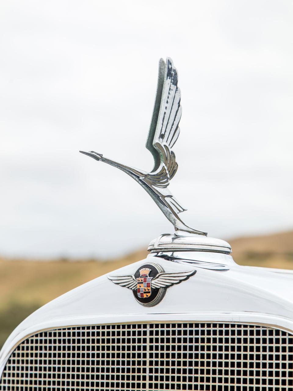 <b>1932 Cadillac 55-B V-8 Convertible Coupe</b><br />Engine no. 1202418<br />Body no. 124