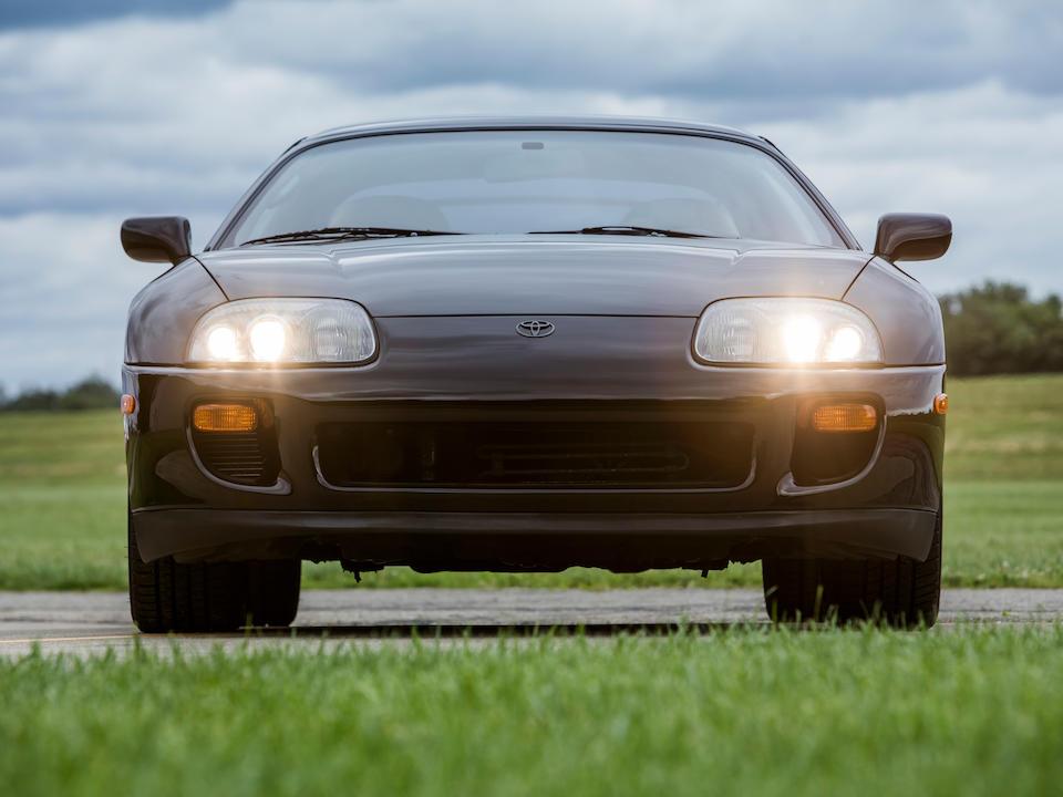 <b>1993 Toyota Supra Twin Turbo</b><br />VIN. JT2JA82J7P0003874