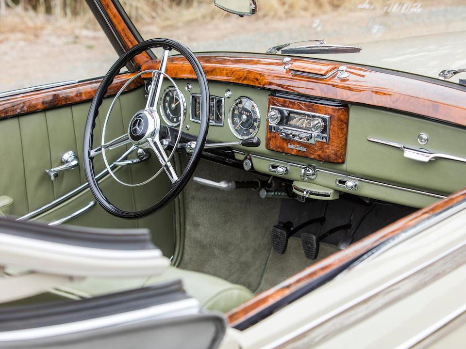<b>1953 Mercedes-Benz 220 Cabriolet A</b><br />Chassis no. 187012.03483/53<br />Engine no. 180920.03615/53