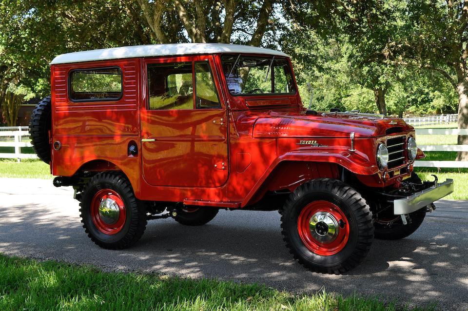 <b>1960 Toyota FJ25 Land Cruiser Hard Top</b><br />Chassis no. 0-FJ25-21852<br />Engine no. F127629