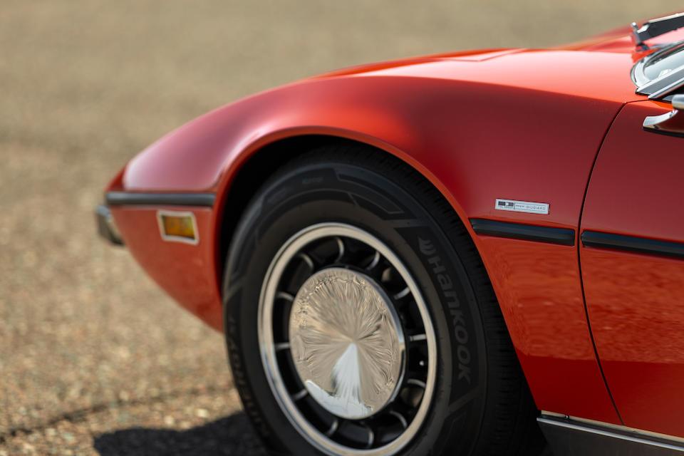<b>1973 Maserati Bora 4.9</b><br />Chassis no. AM117/49/588 <br />Engine no. AM11749588