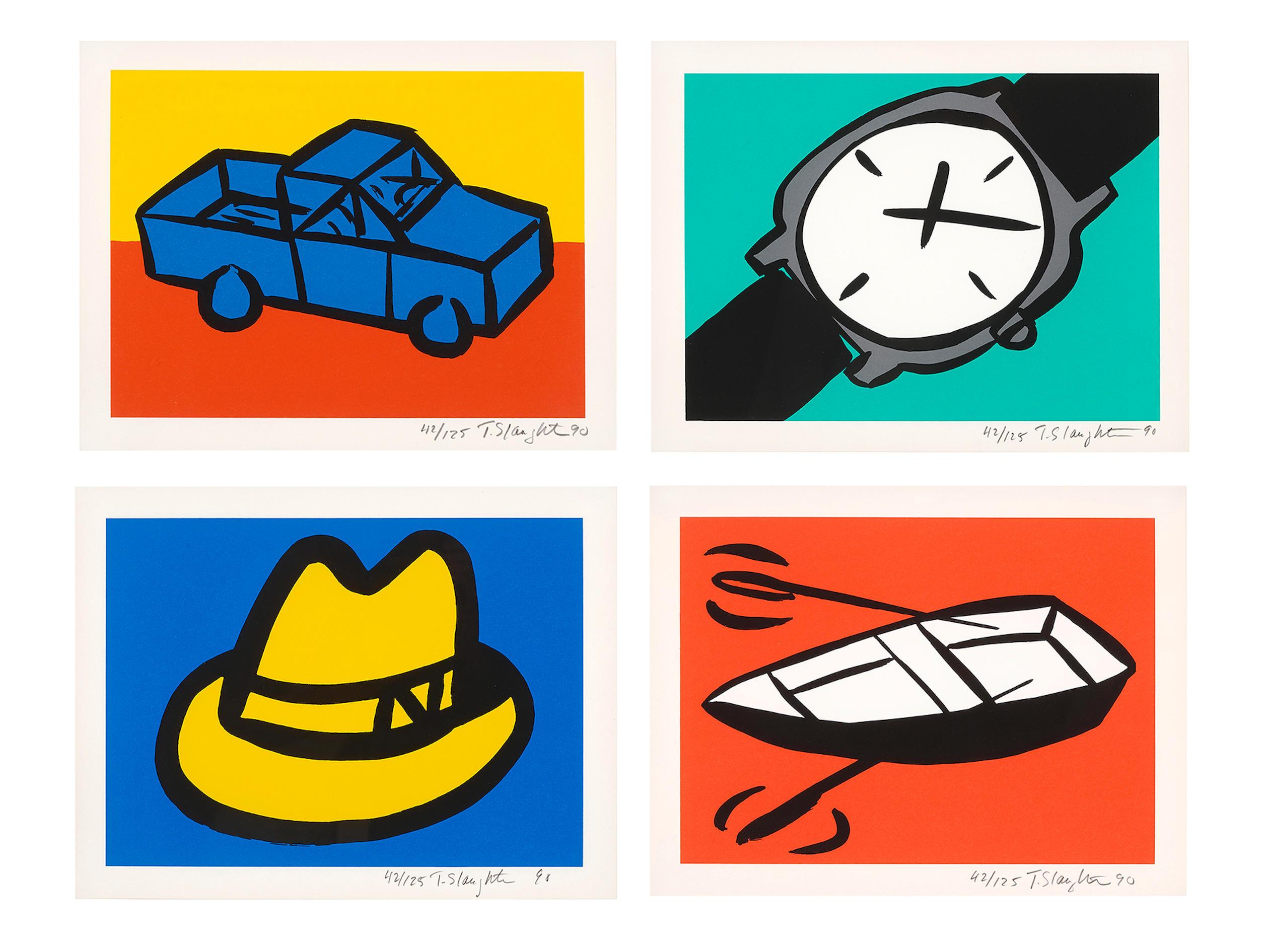 Tom  Slaughter (B. 1955) Recession I, 1990 (4)