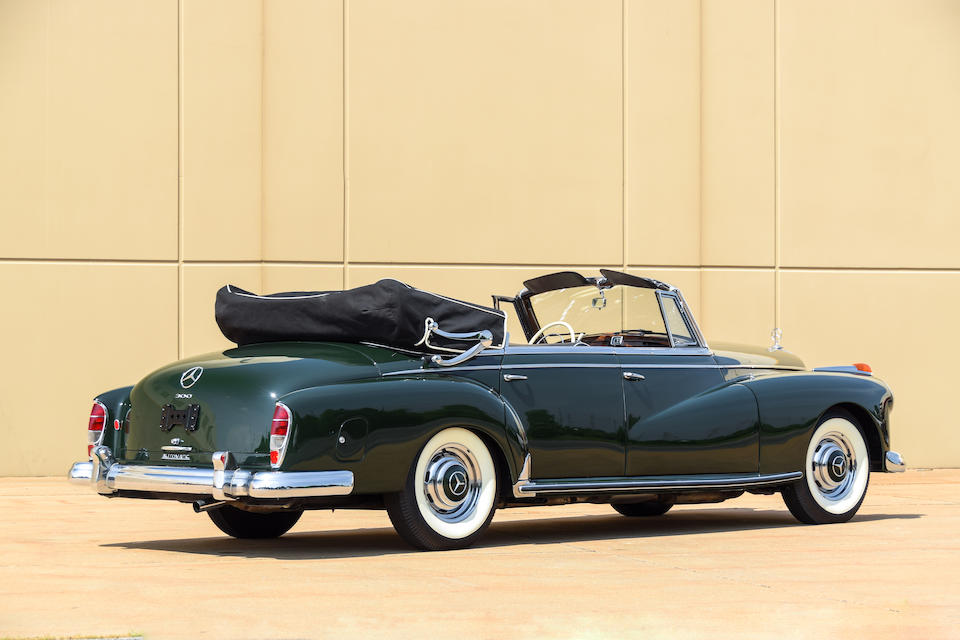 <b>1959 Mercedes-Benz 300 Cabriolet D</b><br />Chassis no. 189033.12.9500367<br />Engine no. 189980.12.9500287