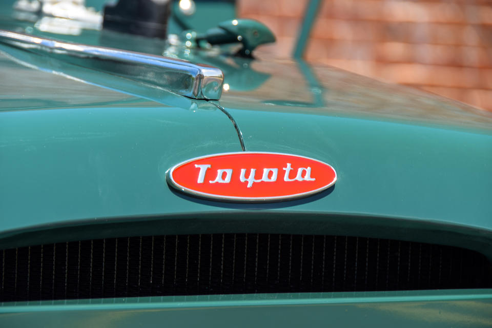 <b>1957 Toyota FJ25 Land Cruiser Soft Top</b><br />Chassis no. 7FJ253628L<br />Engine no. 71964