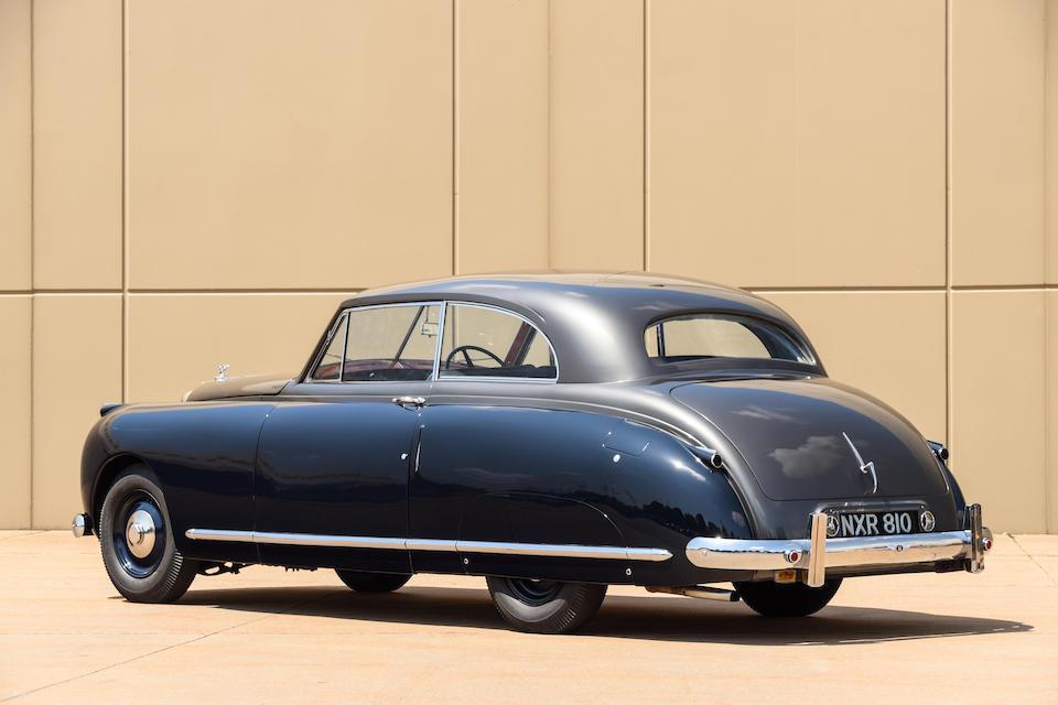 <b>1948 Bentley Mark VI 'New Look' Sports Saloon</b><br />  Chassis no. B495CD<br />Engine no. B498C