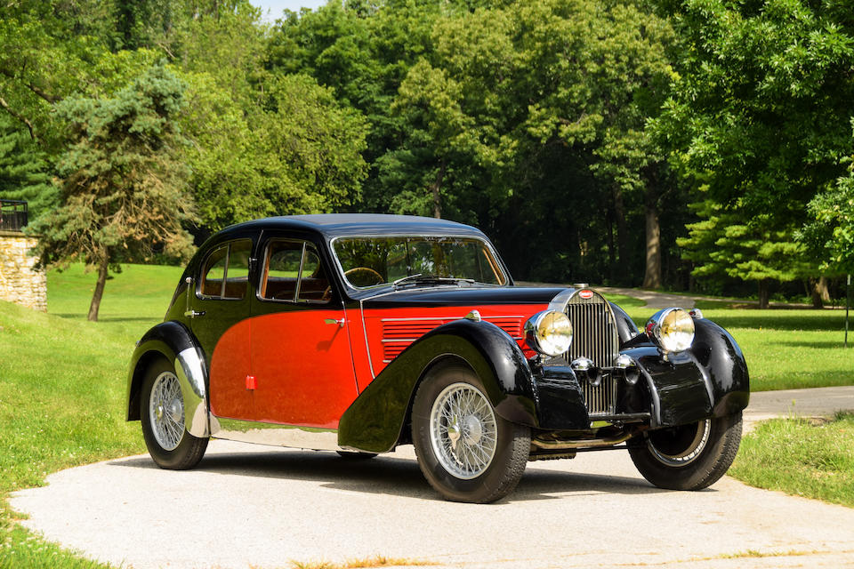<b>1935 Bugatti Type 57 Galibier</b><br />Chassis no. 57245 (see text)