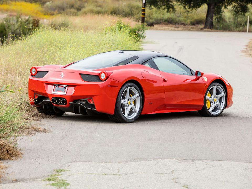 <b>2011 Ferrari 458 Italia</b><br />VIN. ZFF67NFA8B0180805
