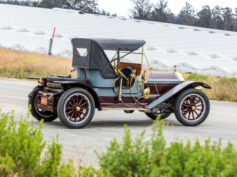 <b>c.1911 Pierce-Arrow Model 66-A Runabout</b><br />Engine no. A4-657