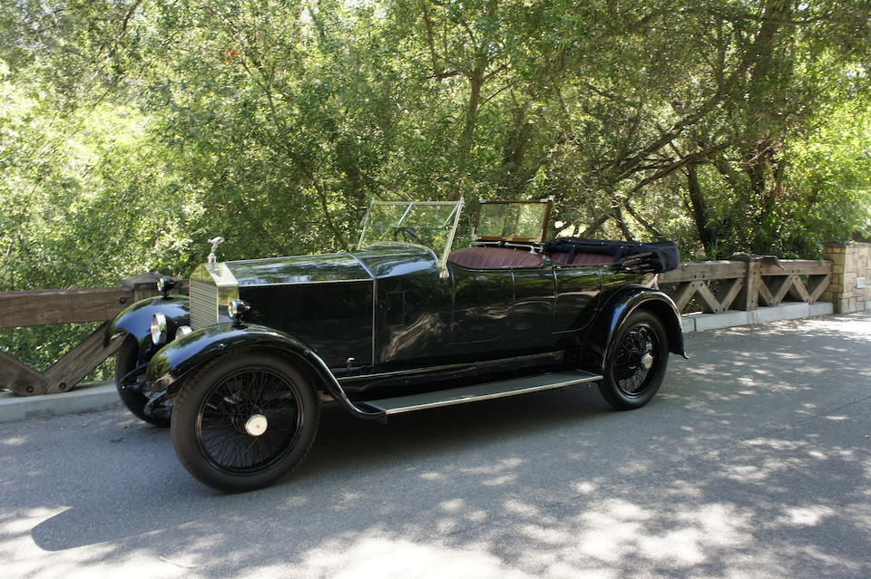 <b>1923 Rolls-Royce Twenty Dual Windshield Tourer</b><br />Chassis no. 54S4<br />Engine no. G273