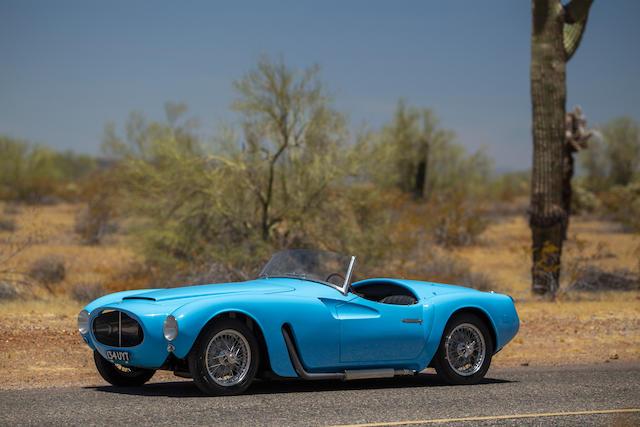 <b>1955 Moretti 1200 Sport Spider</b><br />Chassis no. 5007 <br />Engine no. 5007